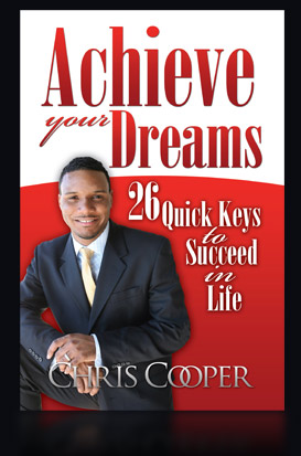 Chris Cooper Achieve Your Dreams Book