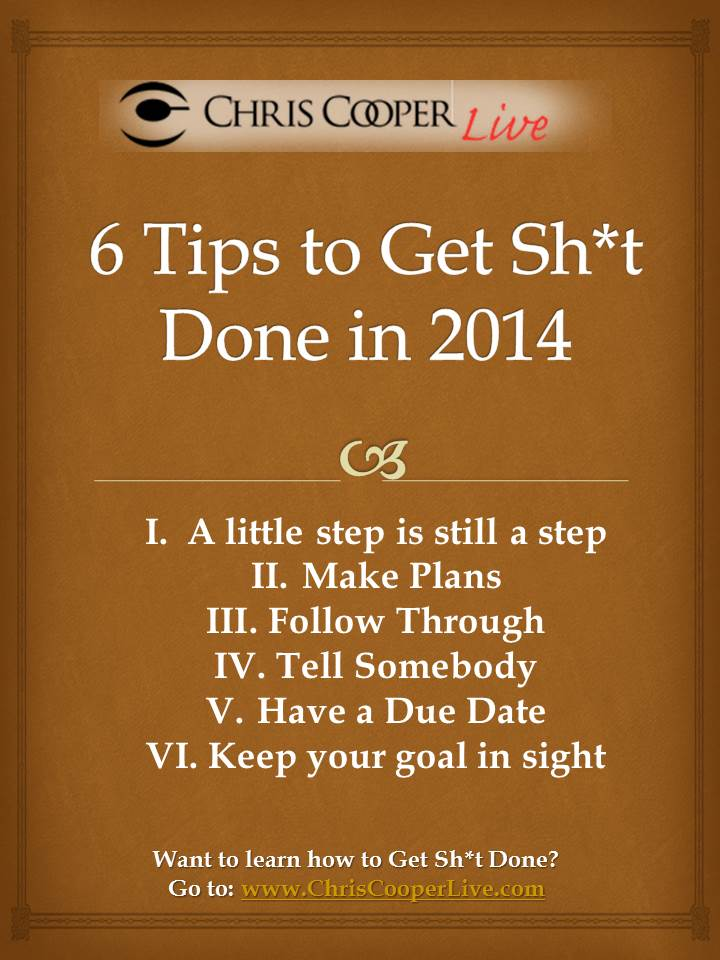 6 Tips to GSD in 2014