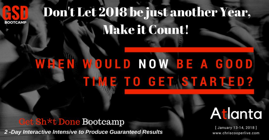 GSD Bootcamp 2018