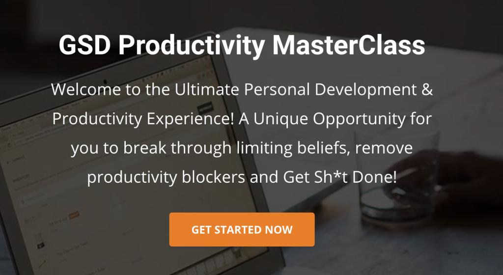 GSD Productivity MasterClass